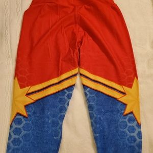 Charlie's Project Pants - Charlie's Project OS Captain Marvel leggings-BNWOT